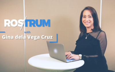 Rostrum with Gina Dela Vega-Cruz