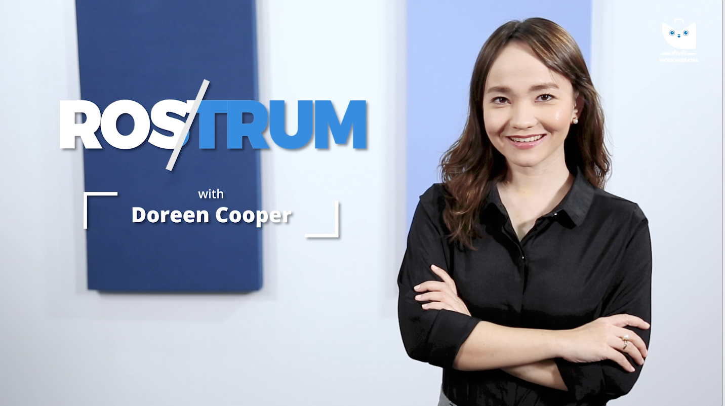 Rostrum with Doreen Cooper | www.workwiseasia.com